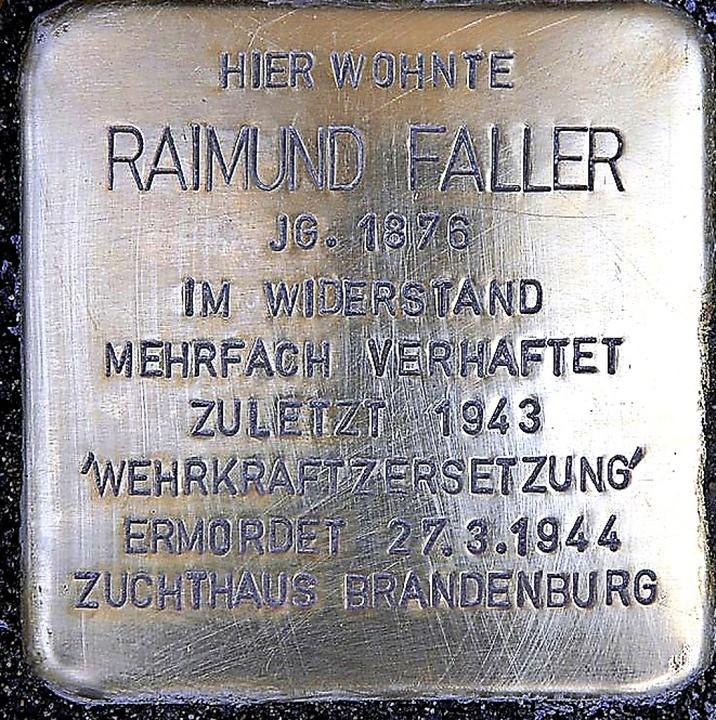 Raimund-Faller-Tafel
